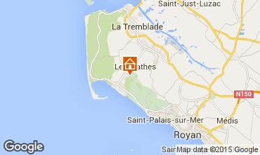 Carte La Palmyre Mobil-home 63465