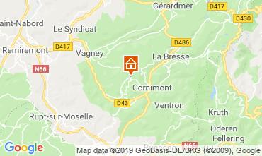 Carte La Bresse Gite 117618