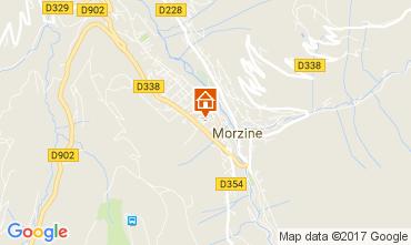 Carte Morzine Appartement 112229