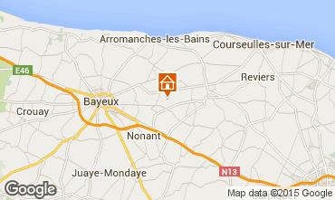 Carte Bayeux Gite 78404