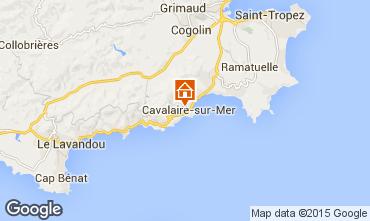 Carte Cavalaire-sur-Mer Appartement 76631