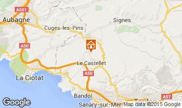 Carte Le Castellet Villa 79364