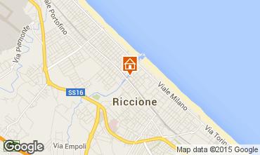 Carte Riccione Appartement 17943