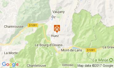 Carte Alpe d'Huez Studio 93111