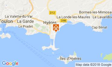 Carte Hyères Appartement 113469