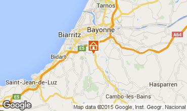 Carte Biarritz Villa 98708