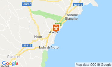 Carte Avola Hébergement insolite 109962