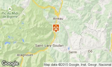 Carte Saint Lary Soulan Maison 95516
