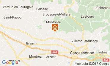 Carte Carcassonne Gite 111060