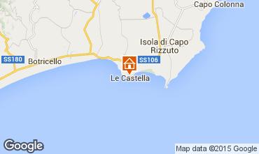 Carte Le Castella Appartement 24518