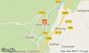 Carte Saint Lary Soulan Gite 72319