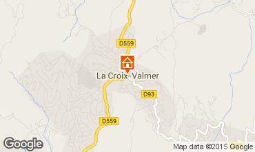 Carte La Croix Valmer Villa 62547