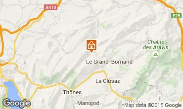 Carte La Clusaz Chalet 72056