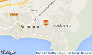 Carte Benidorm Appartement 60317