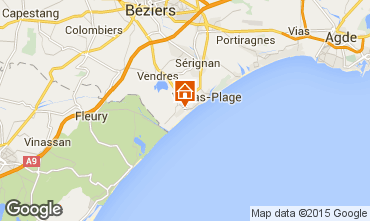 Carte Valras-Plage Maison 102219