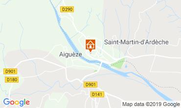 Carte Saint Martin d'Ardèche Appartement 118568