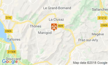 Carte Manigod-Croix Fry/L'étale-Merdassier Studio 117164