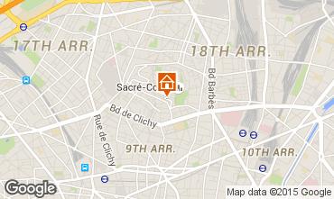 Carte PARIS Appartement 88570