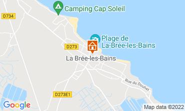 Carte La Brée les Bains Maison 108842