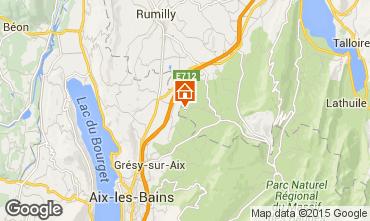 Carte Annecy Gite 51624