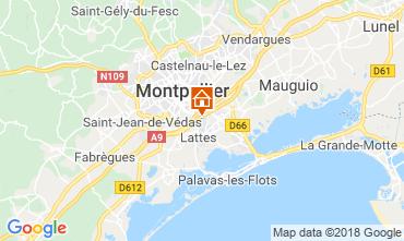 Carte Montpellier Villa 116627