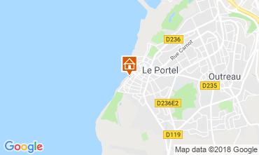 Carte Boulogne/mer Gite 104562