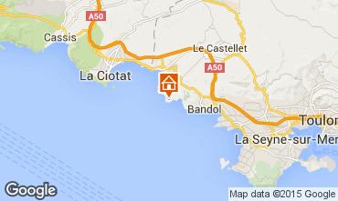 Carte Bandol Villa 8651