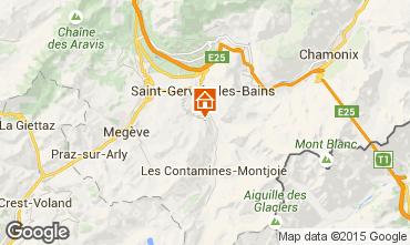 Carte Saint-Gervais-les-Bains Chalet 2571