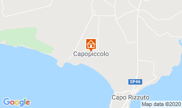 Carte Isola di Capo Rizzuto Appartement 72903