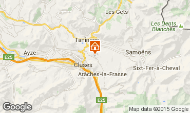 Carte Les Carroz d'Araches Chalet 642