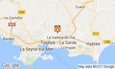 Carte Toulon Villa 112626