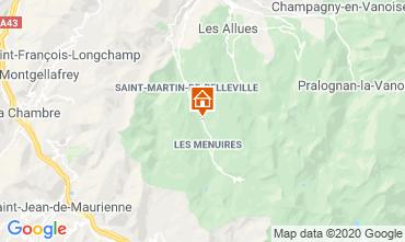 Carte Les Menuires Chalet 26775