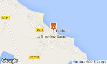Carte La Brée les Bains Maison 58139