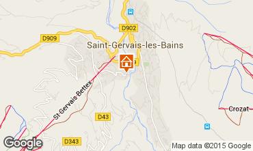 Carte Saint Gervais Mont-Blanc Appartement 75031