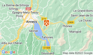 Carte Annecy Appartement 67836