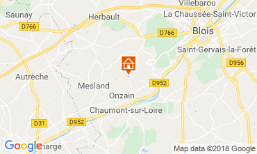 Carte Blois Mobil-home 117293