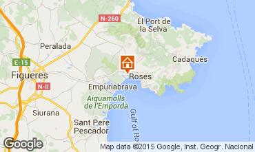 Carte Rosas Appartement 98362