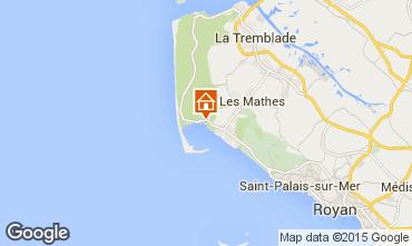 Carte La Palmyre Mobil-home 98403