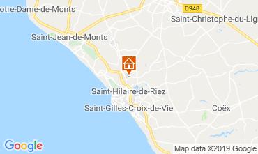 Carte Saint-Gilles-Croix-de-Vie Mobil-home 118171
