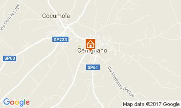 Carte Santa Cesarea Terme Maison 88602