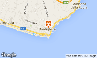 Carte Bordighera Appartement 79637
