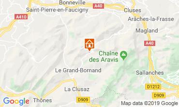 Carte Le Grand Bornand Appartement 117644