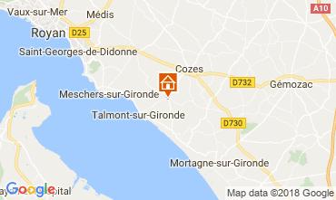 Carte Saint Georges de Didonne Maison 114590