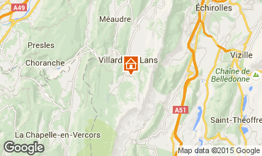 Carte Villard de Lans - Corrençon en Vercors Appartement 3662