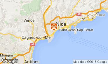 Carte Nice Appartement 93858