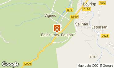 Carte Saint Lary Soulan Studio 14902