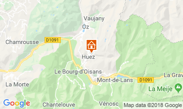 Carte Alpe d'Huez Appartement 117471