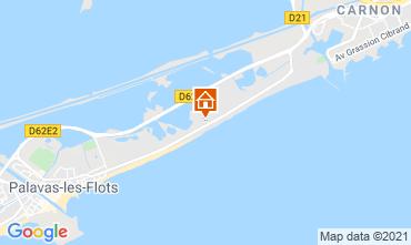 Carte Palavas-les-Flots Appartement 67533
