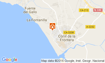 Carte Conil de la Frontera Appartement 103992