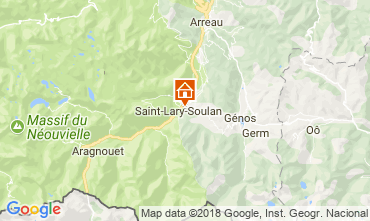 Carte Saint Lary Soulan Gite 112160